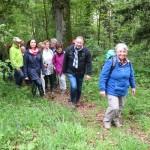 16.05.14_013# Tag des Wanderns, Wandergruppe OG Dewangen bei Bühlerzell