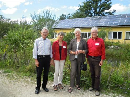 Prof. Dr. Lenelis Kruse-Graumann und Team der Wanderakademie, Foto: Sabine Wächter