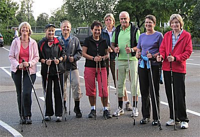 Nordic Walking Gruppe Pliezhausen