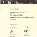 BANU-Urkunde