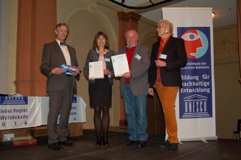 Heimat- und Wanderakademie erhält Auszeichnung