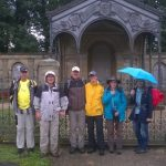 Wandergruppe bei Weitwanderung Götz von Berlichingen, Foto: Michael Schmitt
