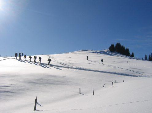 Expedition zum Kältepol auf der Alb, Foto: Sonja Ulmer