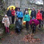 Ü30 Wanderung mit hoch motivierter Wandergruppe, Foto: S. Fischer